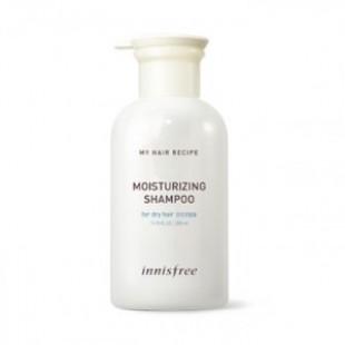 INNISFREE Мой рецепт для волос Увлажняющий шампунь 330 мл (для сухих волос)