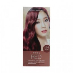 NATURE REPUBLIC Hair & Nature Hair Color Cream #8R wine red 60+60g