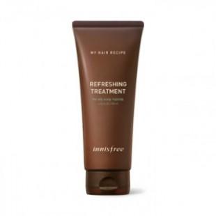 INNISFREE Мой рецепт для волос Освежающая процедура 200 мл (для жирной кожи головы)