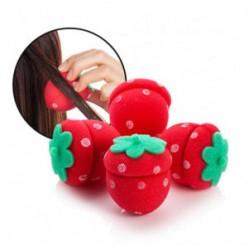 Заколка для волос [MERRYSHOP] Strawberry Hair Doll Dolly 4p
