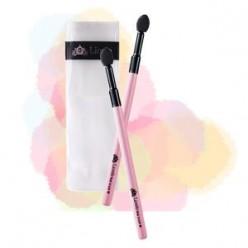 Кисть для подводки бровей LIOELE Pink Brush #6 Shadow Tip Brush (+Refill)