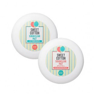 HOLIKAHOLIKA Sweet Cotton Sebum Clear Pact 10g