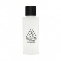 Жидкость для снятия макияжа STYLENANDA 3CE LIP&EYE REMOVER 150ml