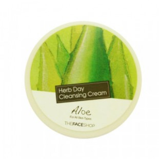 THE FACE SHOP Herb Day Cleansing Cream - Aloe 150ml