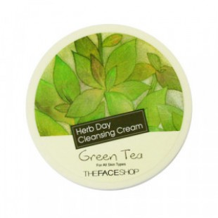 THE FACE SHOP Herb Day Cleansing Cream - Green Tea 150ml