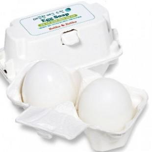 HOLIKAHOLIKA Egg soap - white