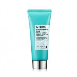 Пенка-скраб для кожи MIZON Black clean up pore deep cleanser 120ml