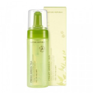 NATURE REPUBLIC Fresh Green Tea Bubble Deep Cleanser 150ml