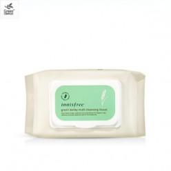 INNISFREE Очищающая ткань зеленого ячменя 50ea 250g