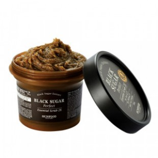 Скраб для лица SKINFOOD Black Sugar Perfect Essential Scrub 2X 210g