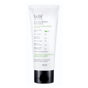 Скраб для лица BELIF Mild and Effective Facial Scrub 100ml