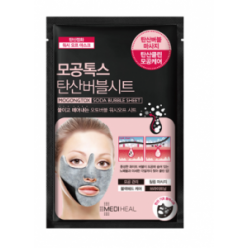 Тканевая маска для лица Mediheal Pore Tox Soda Bubble Sheet Mask (10pcs)