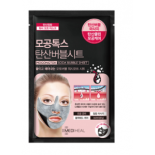 Тканевая маска для лица Mediheal Pore Tox Soda Bubble Sheet Mask (10pcs)