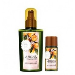 Набор восстанавливающих масел для волос WELCOS Argan Treatment Oil 120ml +25ml