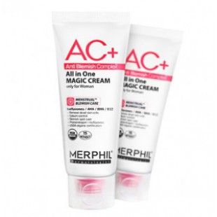 Крем для проблемной кожи MERPHIL AC+All in one Magic cream 100ml
