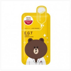 MEDIHEAL Line Friends EGT Timetox Ampoule Mask 1box (10 шт.)