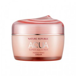 Увлажняющий крем NATURE REPUBLIC Super Aqua Max Moisture Watery Cream 80ml (PINK)