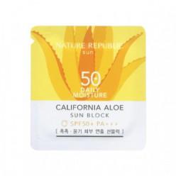 Nature California aloe sun block daily moisture SPF50+ PA+++ 1ml*10e