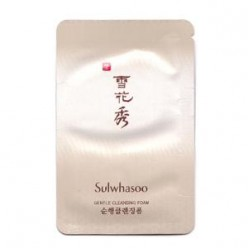 Sulwhasoo Gentle cleansing foam 3ml*10ea