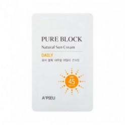 APIEU Pure Block Natural Daily Sun Cream * 10ea
