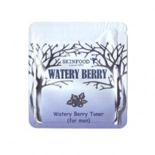 Тонер для мужчин Skinfood Watery Berry Toner (for men) 1ml*10ea