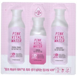 ETUDE House Pink Vital Water 3 шт. 1,5 мл + 1,5 мл + 1 мл * 10ea