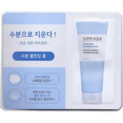 Пенка для лица Missha Super Aqua Refreshing Cleansing Foam 2ml*10ea