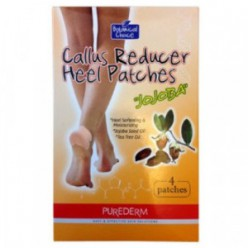 PUREDERM Callus Reducer Heel Patches 4patches