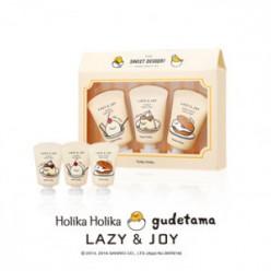 HOLIKAHOLIKA LAZY & JOY Dessert Hand Cream 3PCS Set (издание Gudetama) 1ea