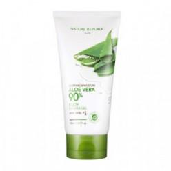 Гель для душа NATURE REPUBLIC Soothing & moisturizing aloe vera 90% body shower gel 150ml
