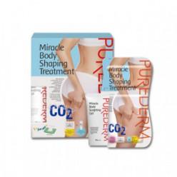 Purederm Miracle CO2 для формирования тела 8 патчей + 60 г