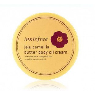Крем-масло для тела INNISFREE Jeju camellia butter body oil cream 200ml