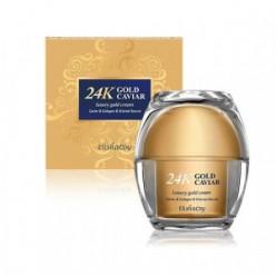 Питательный крем с экстрактом икры для лица  ELISHACOY 24K Gold caviar Cream 50g.