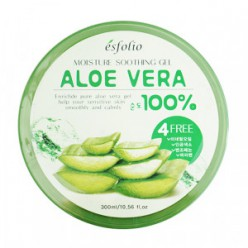 Увлажняющий гель для кожи ESFOLIO Moisture Soothing Gel Aloe Vera 100% 300ml