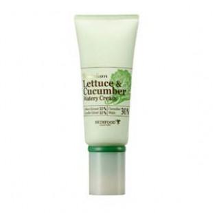 Увлажняющий крем SKINFOOD Lettece & Cucumber Watery Cream 50g