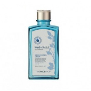 The face shop Herb & Relief HOMME sebum control Lotion150 ml.