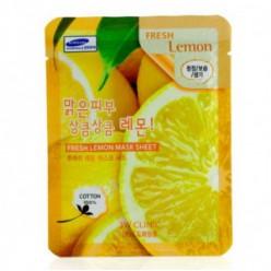 3W CLINIC Лист свежей маски [Лимон] X10 лист