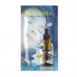 The Ylang Gallery Vegetable Placenta Ampoule Serum Mask Sheet