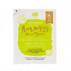 Гидрогелевая маска для лица WHAMISA Organic Fruit Hydrogel mask