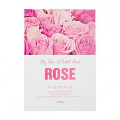APIEU My Skin - подходящая листовая маска - Rose 25g