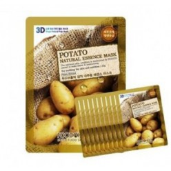 Маска для лица FOOD A HOLIC 3D Natural Essence Mask [Potato] x10EA