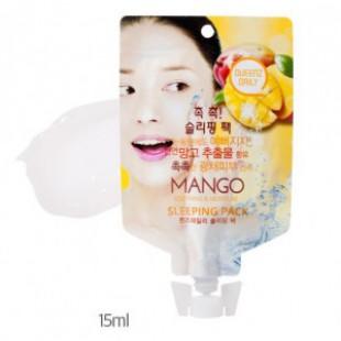 Ночная маска для лица MEMEBOX Queenz Daily MANGO Sleeping Pack 15ml