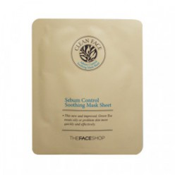 THE FACE SHOP Clean Face Sebum Control Soothing Mask Sheet