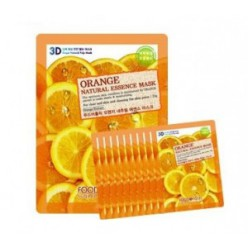 Маска для лица FOOD A HOLIC 3D Natural Essence Mask [Orange] x10EA