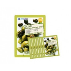 Маска для лица FOOD A HOLIC 3D Natural Essence Mask [Olive] x10EA