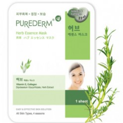 Purederm Essence Mask - Herb