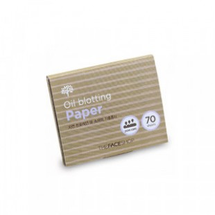 THE FACE SHOP Daily Beauty Tools Oil Blotting Paper 70 Sheet