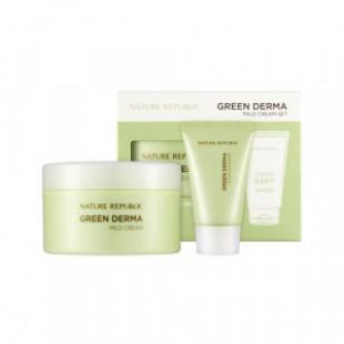 NATURE REPUBLIC Green Derma Mild Cream Set 2 items