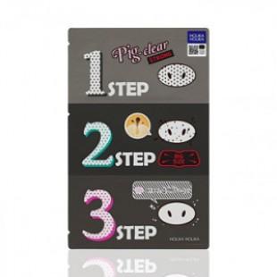 HOLIKA HOLIKA Pig Nose Clear Black-3-step Kit STRONG