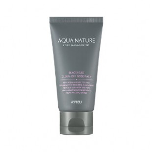 APIEU Aqua Nature Blackhead Очищающий пакет для носа 50 мл